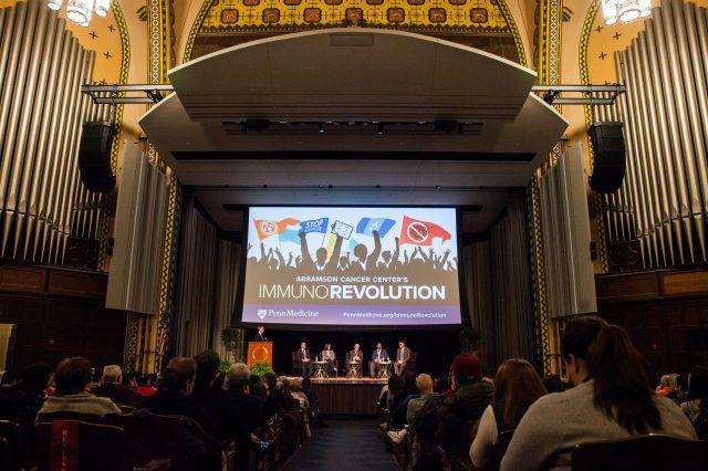 Immunorevolution Panel in Irvine Auditorium