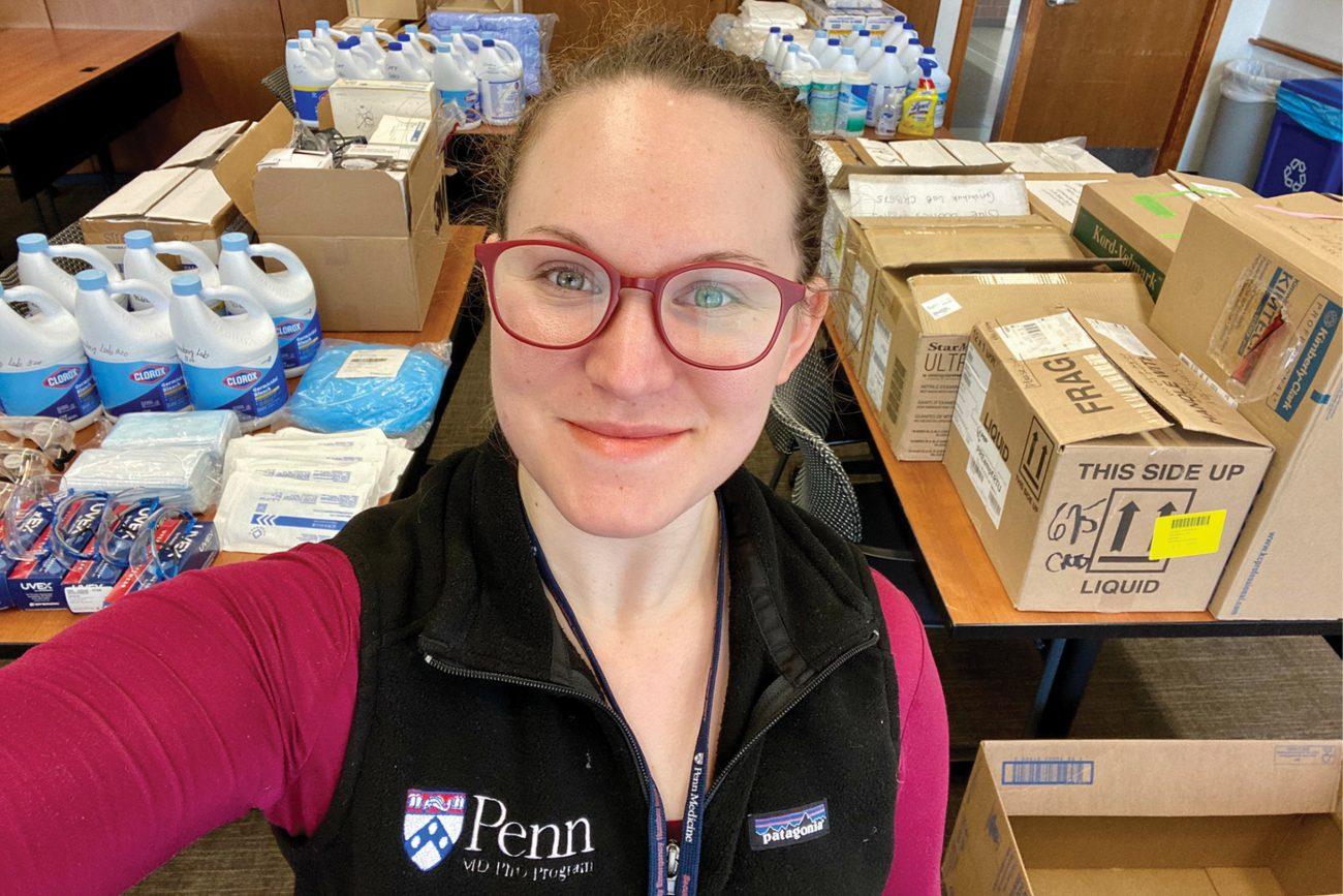 M.D/Ph.D. student Noa Erlitzki