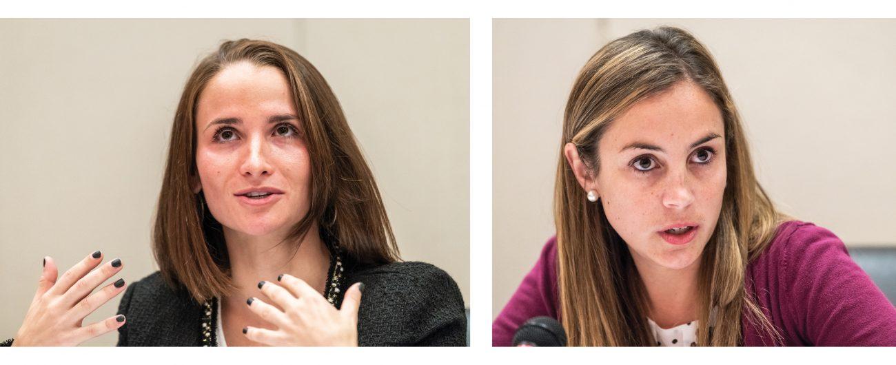 Lindsay Goldblatt and Danielle McKenna